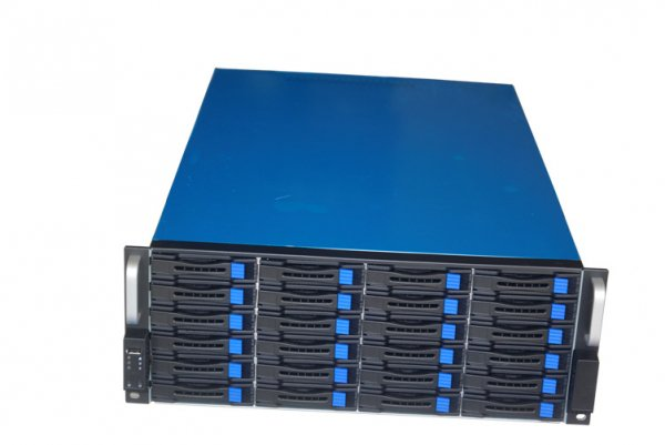 Tgc Rack Mountable Server Chassis 4u 24-bays Hotswap 680mm Depth (4824)