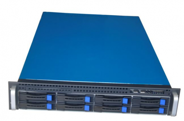 Tgc Rack Mountable Server Chassis 2u 8-bays Hotswap 590mm Depth (TGC-2808S)