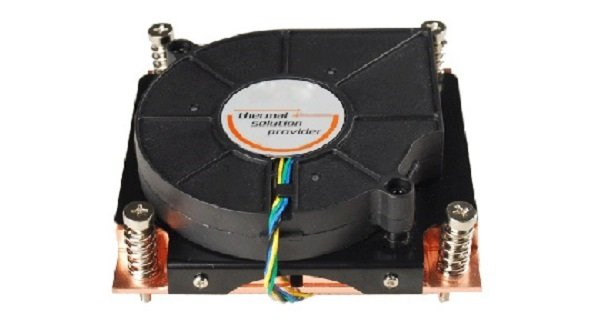 Tgc Chassis Accessory 1u Universal Cpu Active Cooler (full Copper) Fo (TGC-1U-U-A)