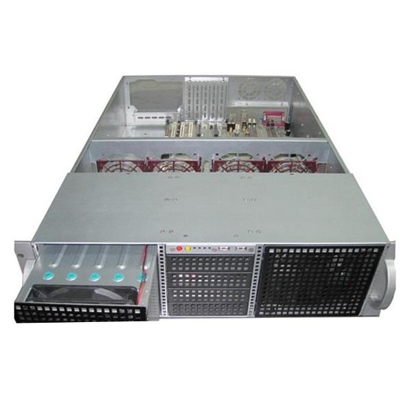 Tgc Rack Mountable Server Chassis 3u 650mm Depth With 14x3.5' Hdd Cag (TGC-39650G)