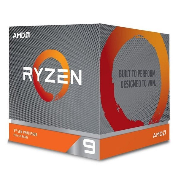 Amd Ryzen 9 3900x 12 Core Am4 Cpu 3.8ghz 4mb 105w W/wraith Prism Cool (100-100000023BOX)