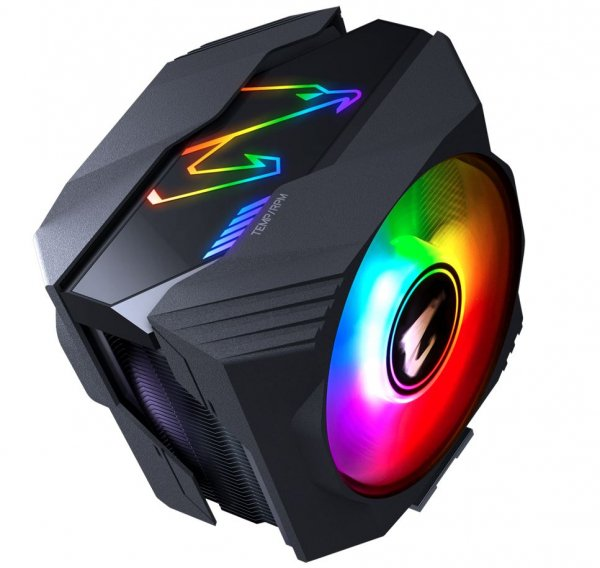 Gigabyte Aorus Multi Socket Cpu Air Cooler Rgb Dual 120mm Fan For Intel 20 (ATC800)