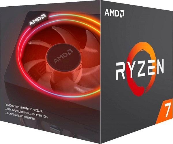 Amd Ryzen 7 3700x 8 Core Am4 Cpu 3.6ghz 4mb 65w W/wraith Prism Cooler (100-100000071BOX)