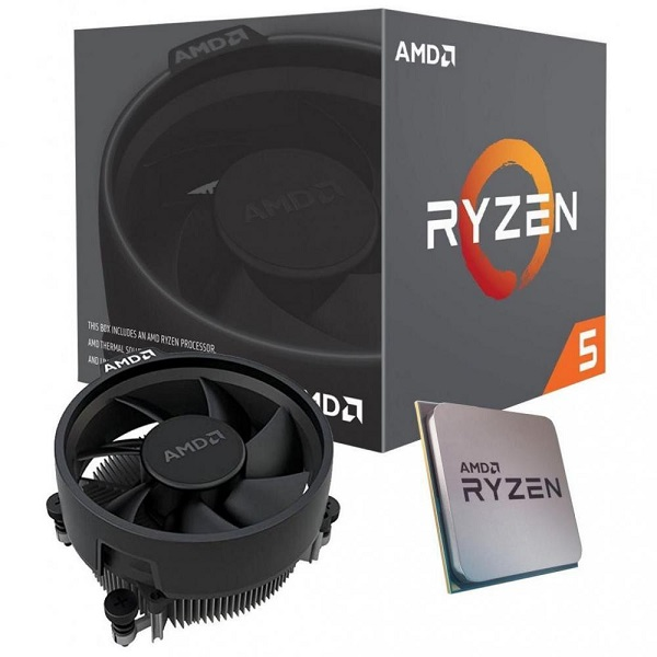 Amd Ryzen 5 3400g 4 Core Am4 Cpu 3.7ghz 4mb 65w W/wraith Stealth Cool (YD3400C5FHBOX)