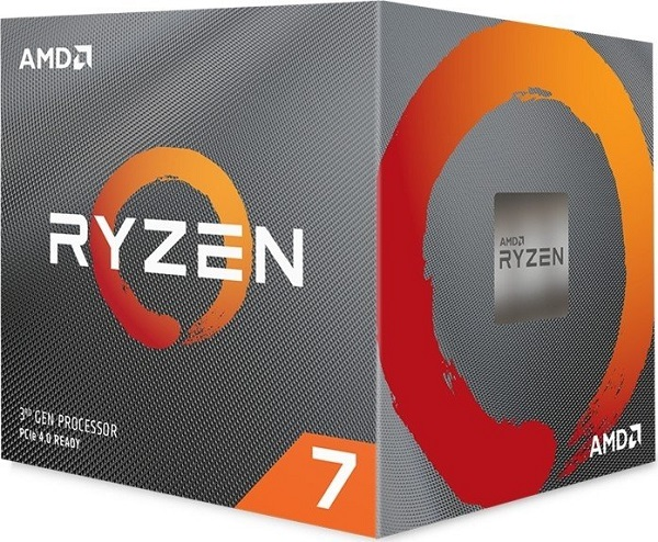 Amd Ryzen 7 3800x 8 Core Am4 Cpu 3.9ghz 4mb 105w W/wraith Prism Coole (100-100000025BOX)