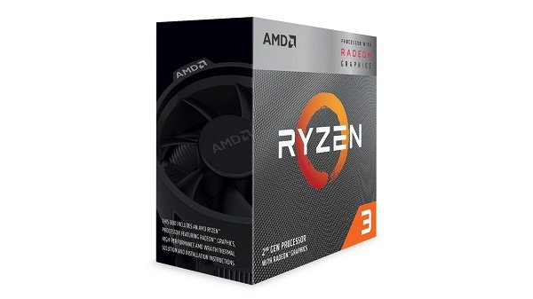 Amd Ryzen 3 3200g 4 Core Am4 Cpu 3.6ghz 4mb 65w W/wraith Stealth Cool (YD3200C5FHBOX)