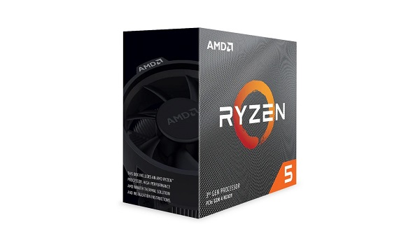 Amd Ryzen 5 3600 6 Core Am4 Cpu 3.6ghz 4mb 65w W/wraith Stealth Coole (100-100000031BOX)