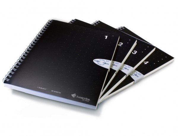 Livescribe A5 Spiral Lined Notebooks (ANX-00003)