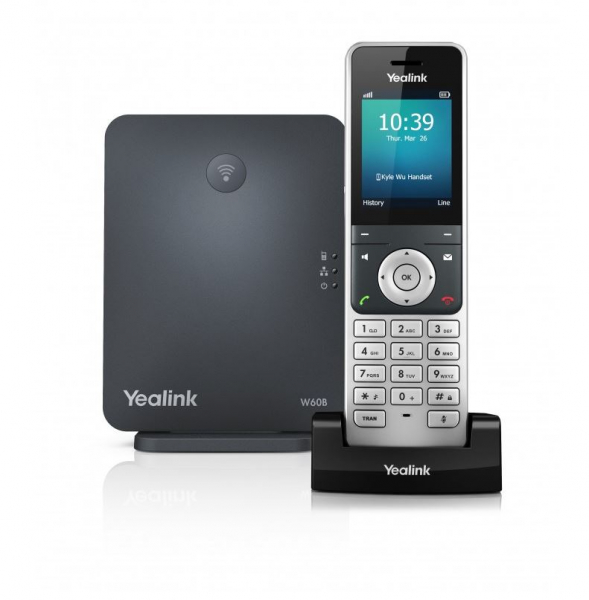 Yealink Wireless Dect Solution Including W60b Base Station And 1x W56h Ha (W60P)