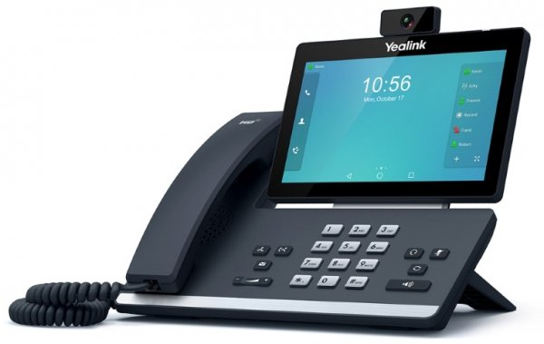 Yealink T58v 16 Line Ip Hd Android Video Phone 7 1024 X 600 Colour Touch (SIPT58V)