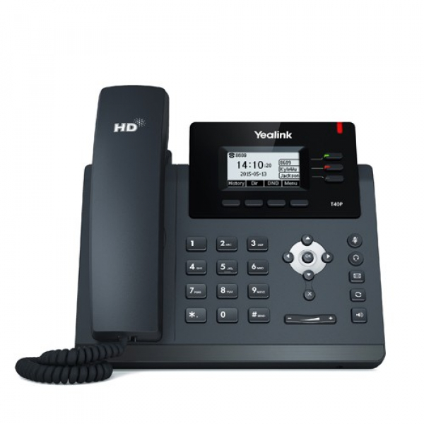 Yealink T40g 3 Line Ip Phone 2.3'132x64 Pixel Graphical Lcd With Backligh (SIP-T40G)