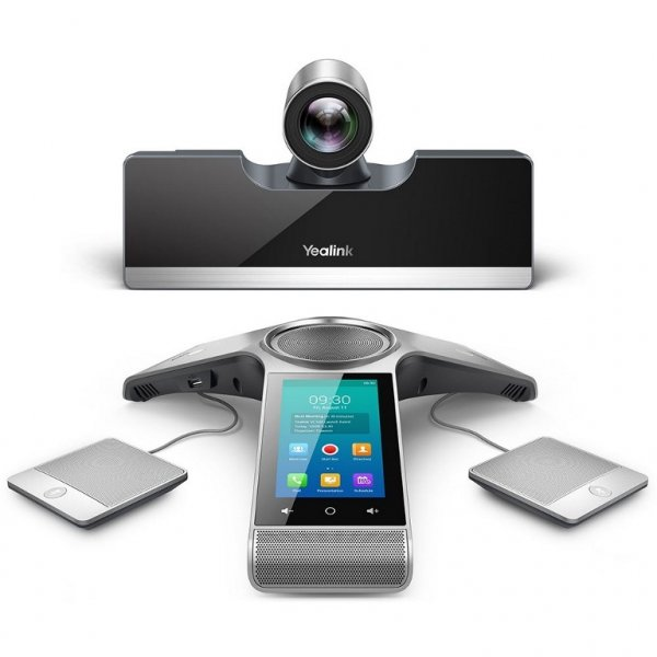 Yealink Video Conferencing Endpoint 1080p/60fps 5 X Optical Zoom 6m Voice (VC500)