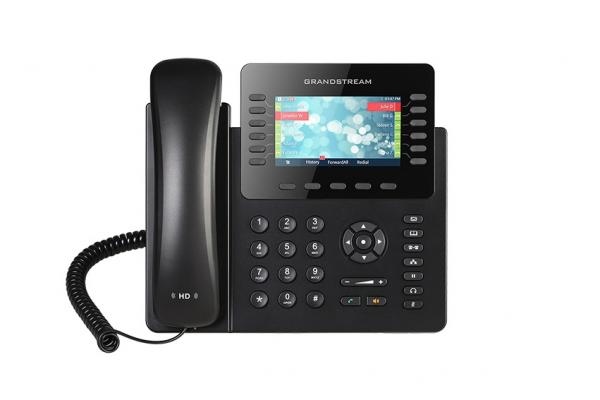 Grandstream Hd Poe Ip Phone 480x272 Colour Lcd 12 Lines Dual Gbe 5 Program Ke (GXP2170)