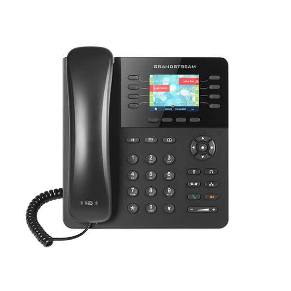 Grandstream Hd Poe Ip Phone 320x240 Colour Lcd 4 Lines Dual Gbe 4 Program Key (GXP2135)