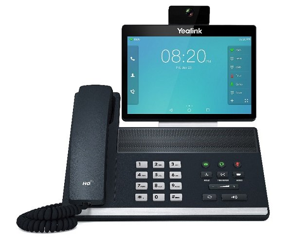 Yealink 16 Line Ip Full-hd Video Phone 8' 1280 X 800 Colour Touch Screen  (SIP-VP59)