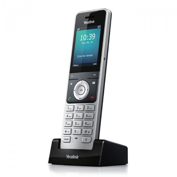 Yealink W56h Cordless Dect Ip Phone Handset -for Use With W60p Ip-dect Ph (SIP-W56H)
