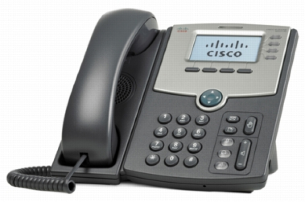 Cisco 4-line Ip Phone With 2-port Gigabit Ethernet Switch Poe And Lcd D (SPA514G)
