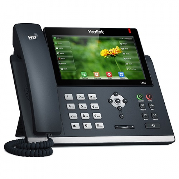 Yealink T48s 16 Line Ip Phone 7 800x480 Pixel Colour Touch Screen Optima (SIP-T48S)