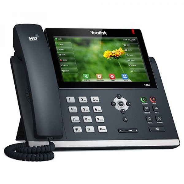 Yealink T48s 16 Line Ip Phone 7' 800x480 Pixel Colour Touch Screen Optima (SIP-T48S)