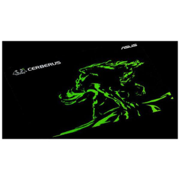 Asus Cerberus Mat Gaming Mouse Pad - Green  (CERBERUS MAT MINI/GRN)