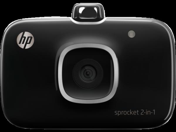 Hp Sprocket 2-in-1 Printer Black (2FB97A)