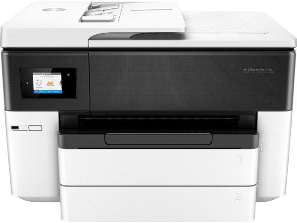 Hp Office Jet 7740 Wide Format All In One Printer (G5J38A)