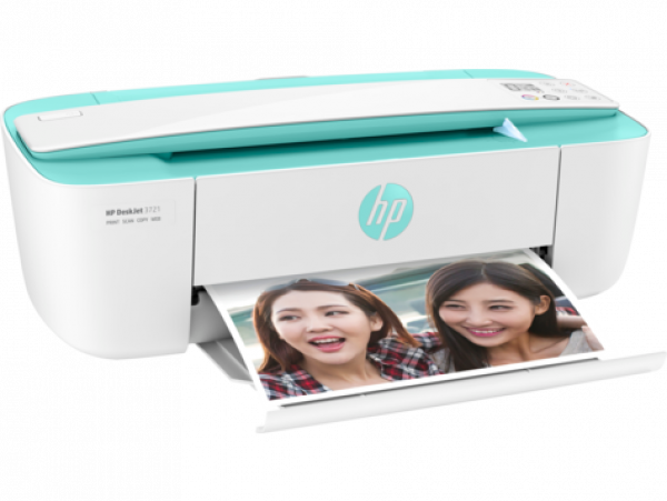 Hp Deskjet 3721 All-in-one Sea Grass Green (T8W92A)