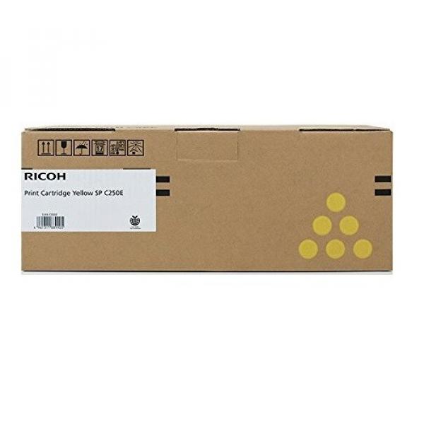 RICOH Print Cartridge Yellow Sp C250s Spc250dn 407550