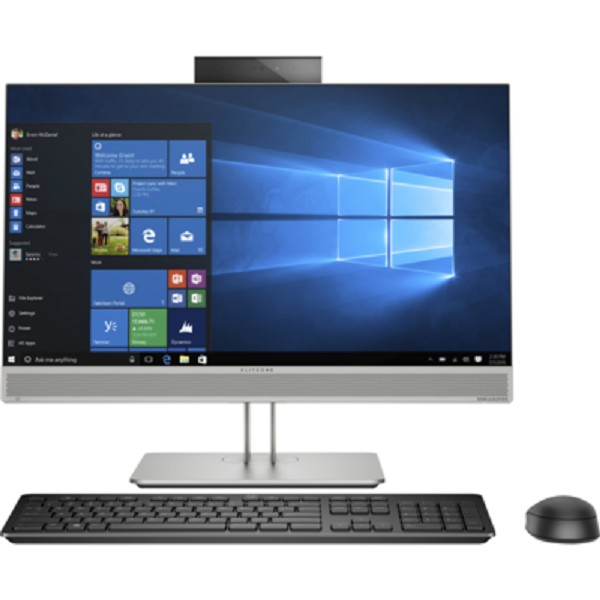 HP Eliteone 800 G5 23.8 All In One 8GB 256GB SSD W10P64 Computer Desktop (7NX97PA)