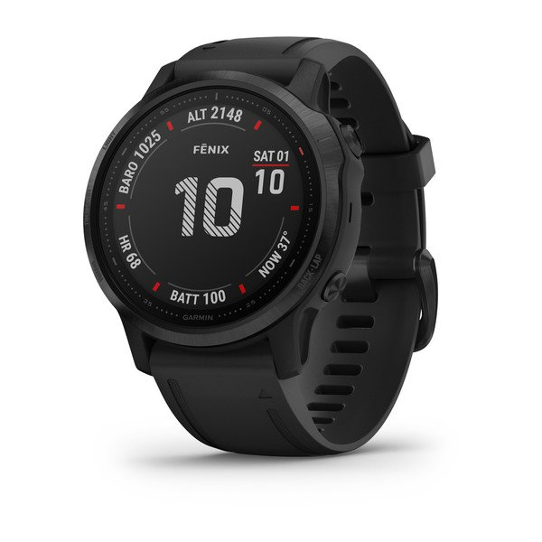 Garmin Fenix 6s Pro Black With Black Band (010-02159-15)