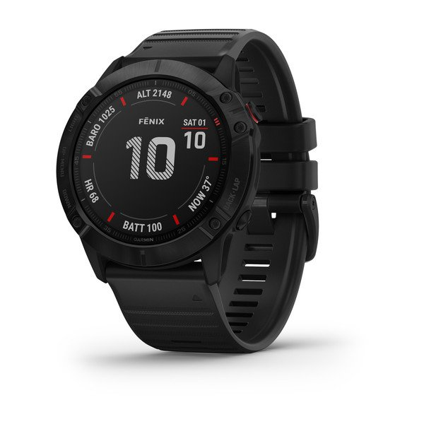 Garmin Fenix 6x Pro Black With Black Band (010-02157-02)
