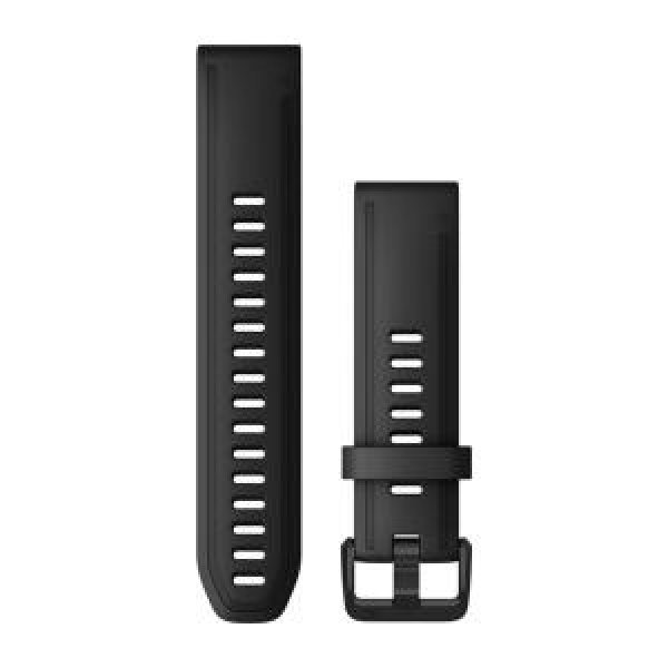 Garmin Quickfit 20 Watch Bands Black Silicone (large) (010-12942-00)