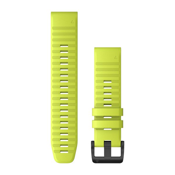 Garmin Quickfit 22 Watch Bands Amp Yellow Silicone (010-12863-04)