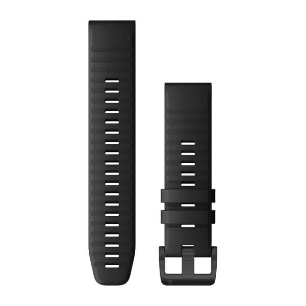 Garmin Quickfit 22 Watch Bands Black Silicone (010-12863-00)