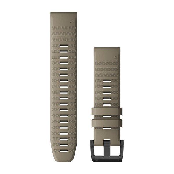 Garmin Quickfit 22 Watch Bands Dark Sandstone Silicone (010-12863-02)