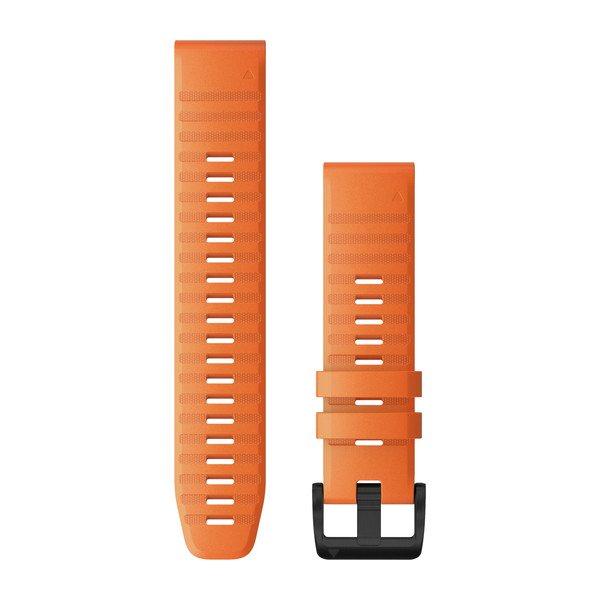 Garmin Quickfit 22 Watch Bands Ember Orange Silicone (010-12863-01)