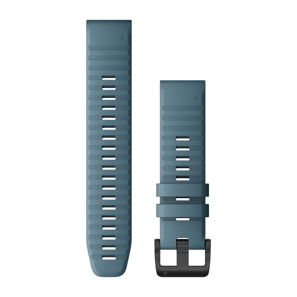 Garmin Quickfit 22 Watch Bands Lakeside Blue Silicone (010-12863-03)