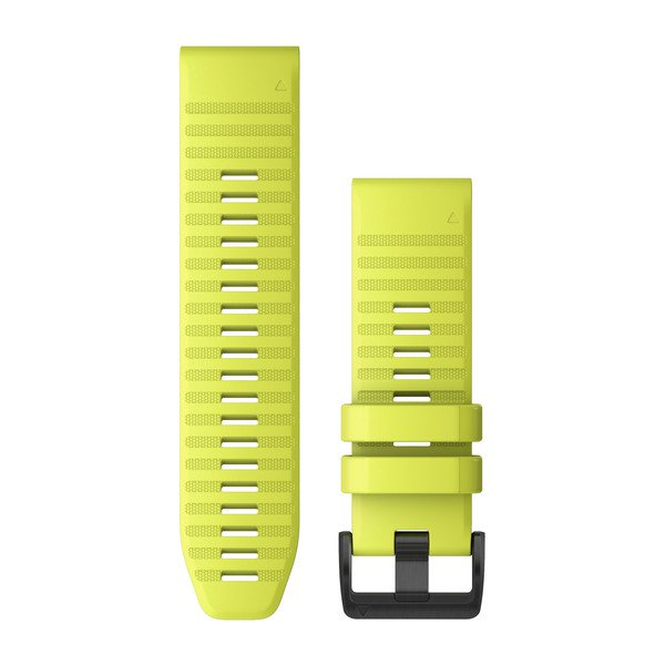 Garmin Quickfit 26 Watch Bands Amp Yellow Silicone (010-12864-04)