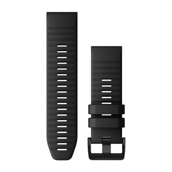 Garmin Quickfit 26 Watch Bands Black Silicone (010-12864-00)