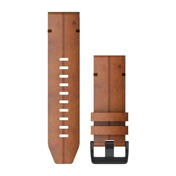 Garmin Quickfit 26 Watch Bands Chestnut Leather (010-12864-05)
