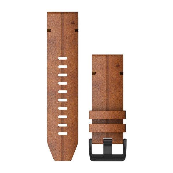 Garmin Quickfit 26 Watch Bands Chestnut Leather (010-12864-05)