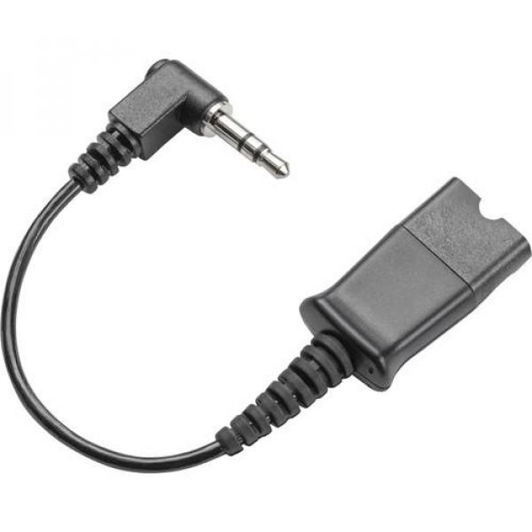 PLANTRONIC Cable Qd To 3.5mm Right-angle Plug - 40845-01