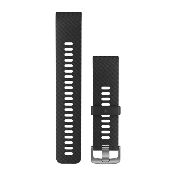 Garmin Replacement Watch Band Black Silicone (010-12793-00)