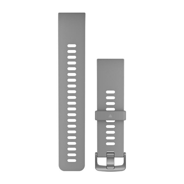 Garmin Replacement Watch Band Powder Gray Silicone (010-12794-00)