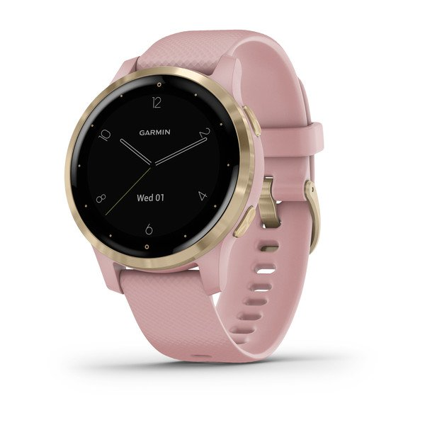 Garmin Vivoactive 4s Dust Rose With Light Gold Hardware (010-02172-32)