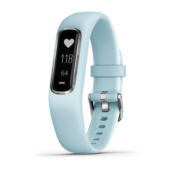 Garmin Vivosmart 4 Small/medium Azure Blue With Silver Hardware (010-01995-14)