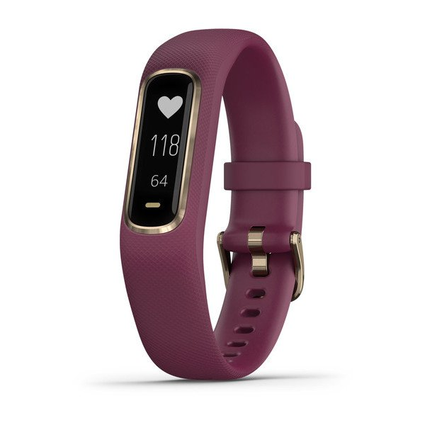 Garmin Vivosmart 4 Small/medium Berry With Light Gold Hardware (010-01995-11)