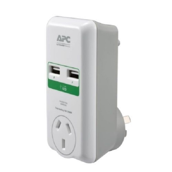 Apc - Schneider Apc Essential Surgearrest 1 Outlet Wall (P1U2-AZ-02)