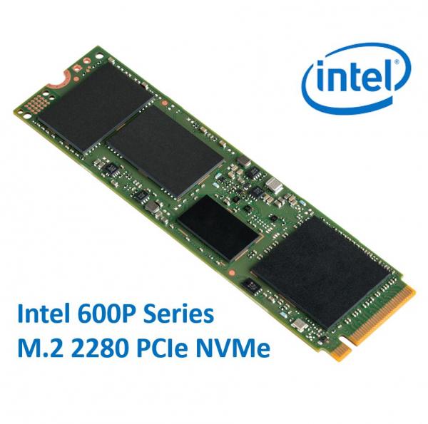 Intel 600p Series M.2 2280 256gb Ssd Pcie Nvme 1570/540mb/s 71k/112k Io (SSDPEKKW256G7X1)