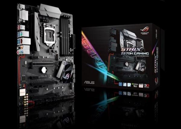 Asus S1151 Atx Mb 4xddr4 6xpcie 2xm.2 6xsata Intel Gigalan 6xusb3.1 1x (ROG Strix Z270H gaming)